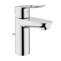Grohe 23084000 BauLoop Single Handle Bathroom Faucet 1.5 GPM Starlight Chrome