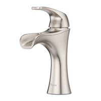 Pfister LF042JDKK Jaida Single Control 4 Centerset Bathroom Faucet in Brushed Nickel Water Efficient Model