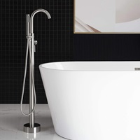 WOODBRIDGE Bathtub Faucet B, F-0001 Brushed Nickel