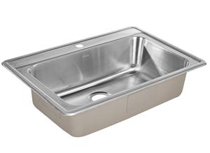 ZUHNE Drop-In Kitchen Sink Stainless Steel