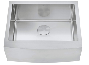 ZUHNE Stainless Steel Farmhouse Kitchen Sink (24-Inch Apron Front, 16-Gauge Small Bowl)