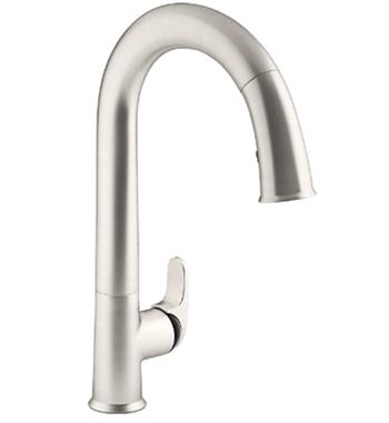 KOHLER K-72218-B7-VS Sensate Touchless Kitchen Faucet