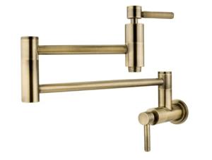 Kingston Brass KS8103DL Wall Mount Pot Filler Kitchen Faucet