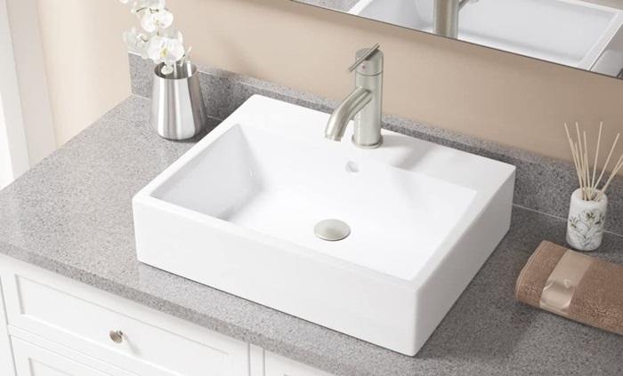 sink mount vessel sink faucets