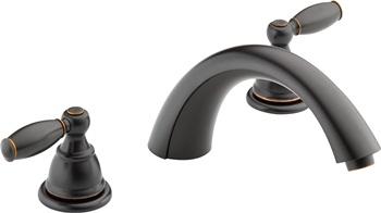 Peerless Claymore 2-Handle Widespread Roman Tub Faucet Trim Kit, Oil-Rubbed Bronze PTT298696-OB