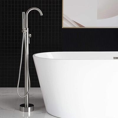 Woodbridge F0001BN Freestanding Bathtub Faucet, Brushed Nickel
