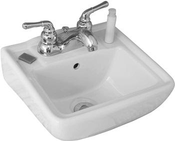Fine Fixtures Small Wall Mount Bathroom Sink