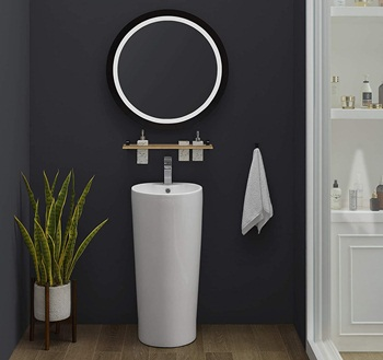 Swiss Madison Well Made Forever SM-PS307 Monaco Pedestal Sink