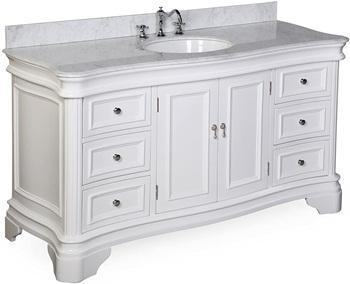 Katherine 60-inch Single Sink Bathroom Vanity