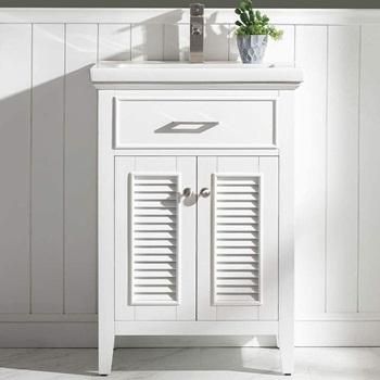 LUCA Kitchen & Bath LC24SWP, Juliet 24in, Pure White